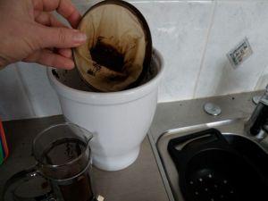 Coffee bokashi